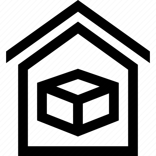 box, home, house, moving icon