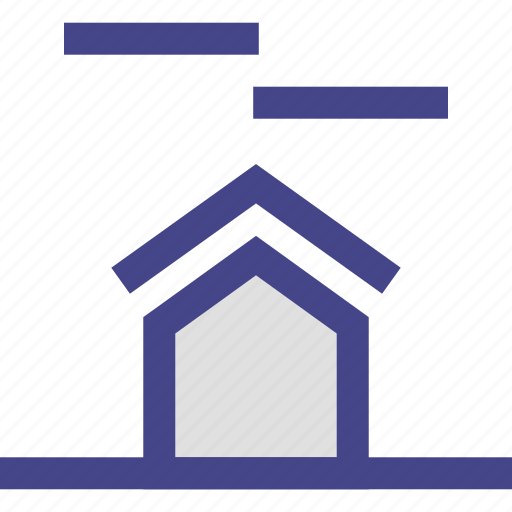 clean, clouds, home, house, weather icon