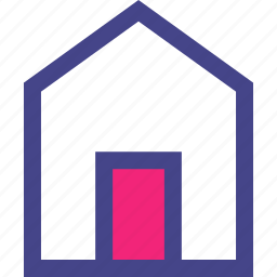 clean, door, front, home, house icon