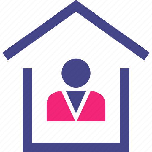 buyer, home, house, owner, realtor icon