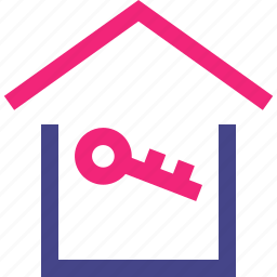 buy, home, house, key, open icon