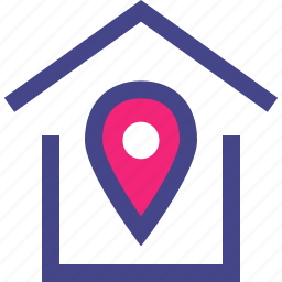 direction, home, house, location icon