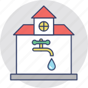 faucet, plumbing, public utilities, water supply, water tap icon