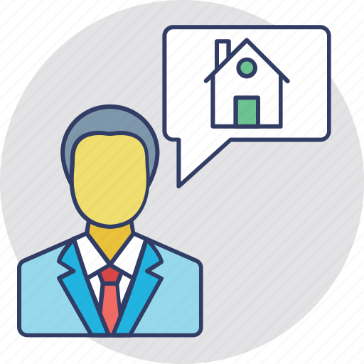 Realtor, estate agent, property agent, renter, homeowner icon