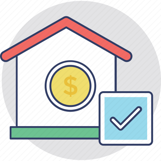 home loan approved, house financing, loan sanction, mortgage aproval, pre approved loan icon
