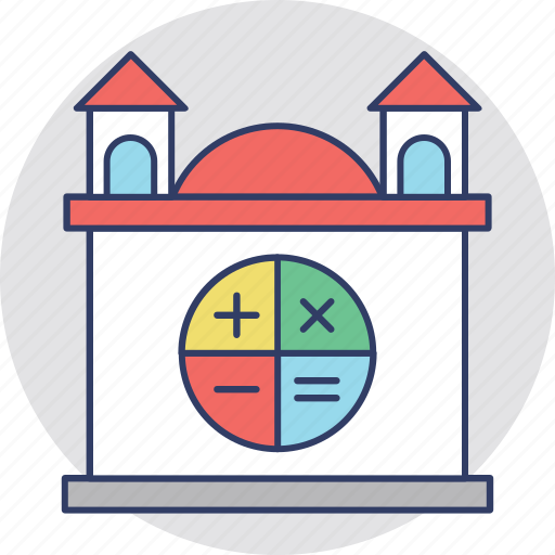 construction budget, house value, house worth, property estimation, property evaluation icon