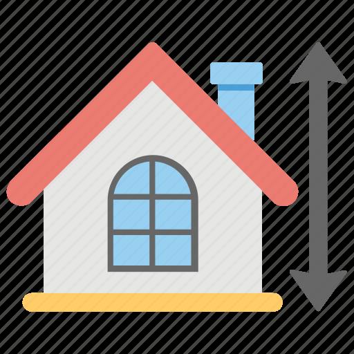 architectural project, blueprints, construction plan, house plan, property measurement icon