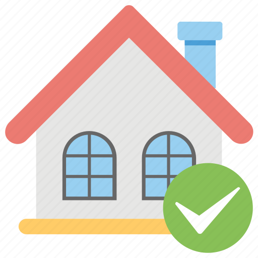 approved house, home accepted, home sanction, mortgage aproval, pre approved loan icon