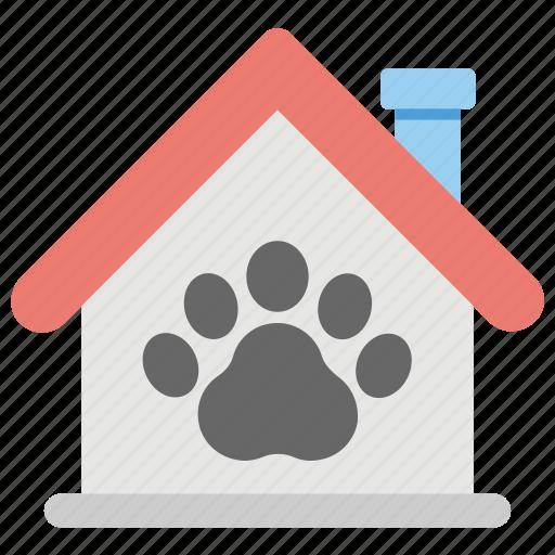 dog bone, dog house, dog kennel, dog shed, pet house icon