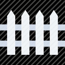 building, defence, estate, fence, home, railing, safe icon