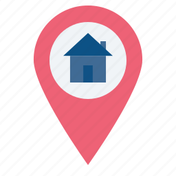 find, gps, home, location, navigate, pin, search icon