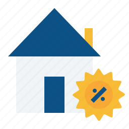 discound, estate, home, house, offer, property, real icon