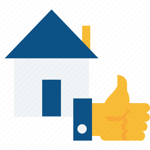 building, deal, done, estate, house, real, rent icon