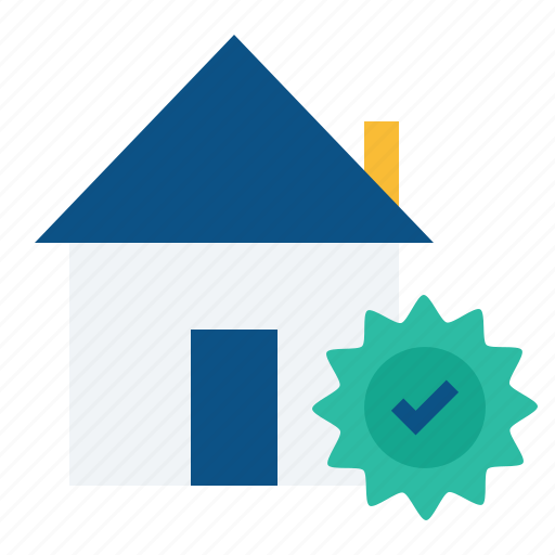 building, estate, home, house, property, rent, trust icon