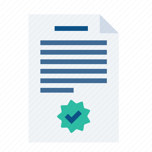 agreement, contract, deal, paper, sign, signature, trust icon