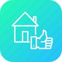building, deal, done, estate, home, house, property icon
