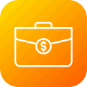 bag, contract, deal, dollar, finanace, income, money icon