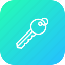 home, house, key, lock, safe, secure, security icon