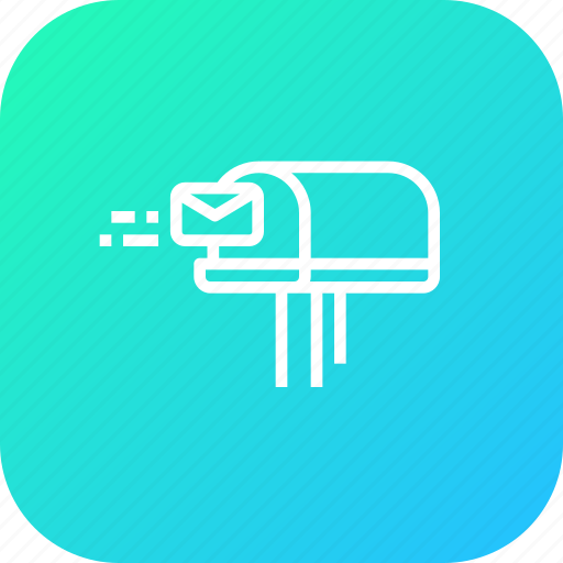 curier, estate, house, letter, mail, message, post icon