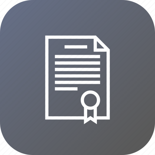 agreement, business, contract, deal, document, paper, signature icon
