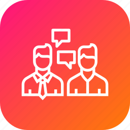 agent, broker, buyer, chat, communication, home, rate icon