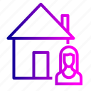building, buyer, home, house, real, sell, seller icon
