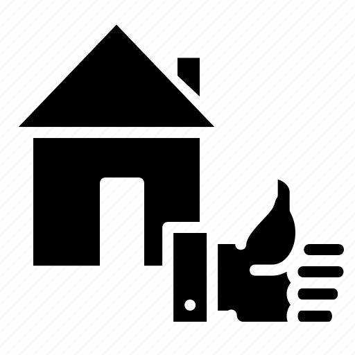building, deal, done, estate, house, property, rent icon
