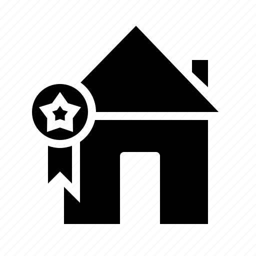 award, building, estate, house, property, real, rent icon