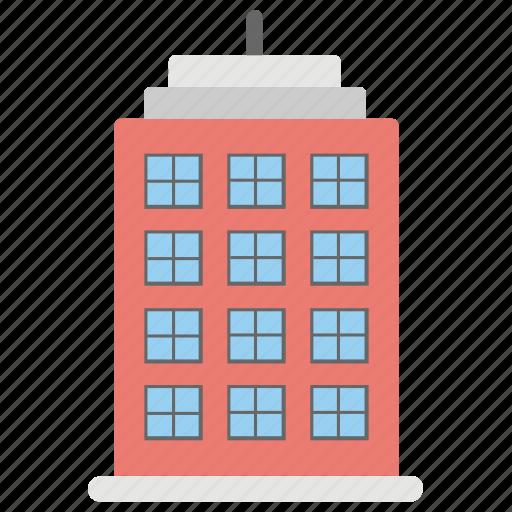 apartments, building, flats, housing society, multi storey icon
