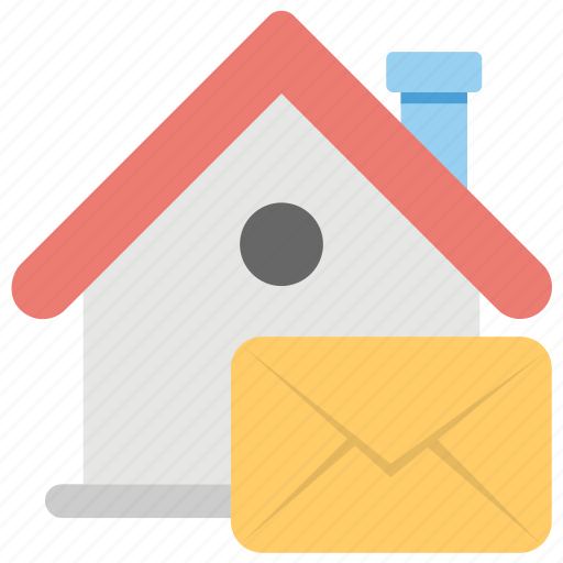 legal documents, property email, property papers, real estate message, rental agreement icon