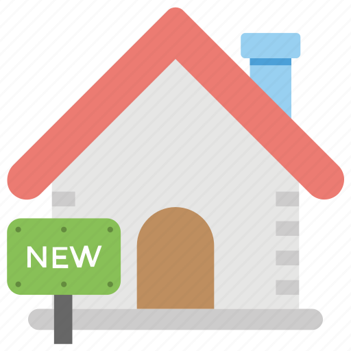 building, home, house, new home, shack icon