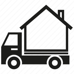 car, home, house, transport, truck icon