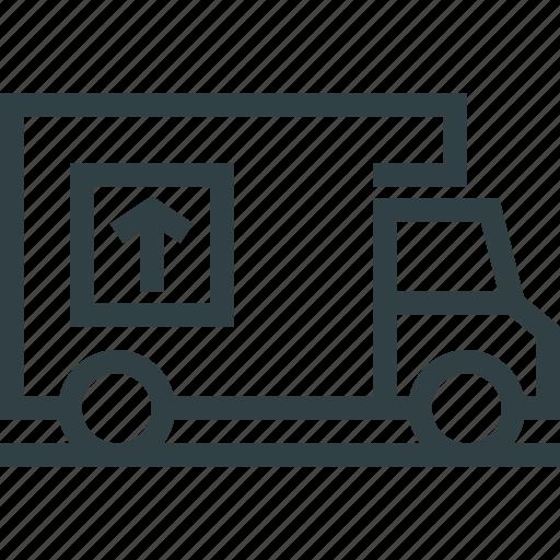 car, cargo, furniture, transportation icon