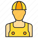 enginer, helmet, labor, mechanic, technician icon