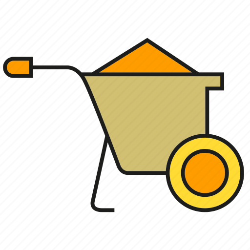cart, dray, mine, trolley icon