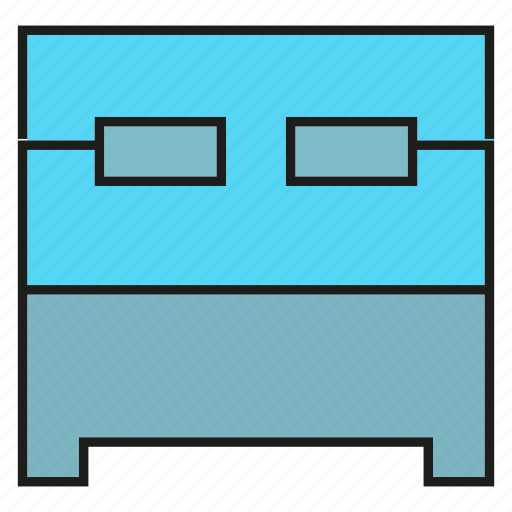 bed, bedroom, couch, sleep icon