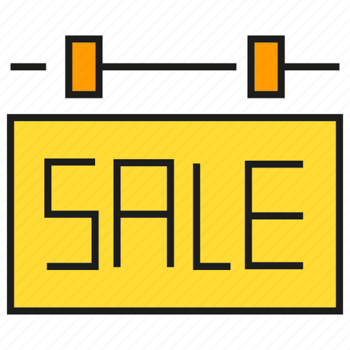 real estate, sale, signage icon