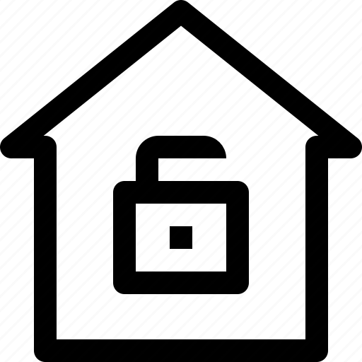 apartment, building, home, house, property, real estate, security icon