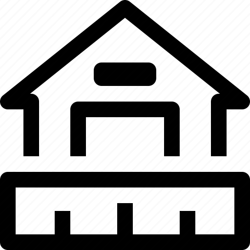 apartment, building, home, house, plan, property, real estate icon