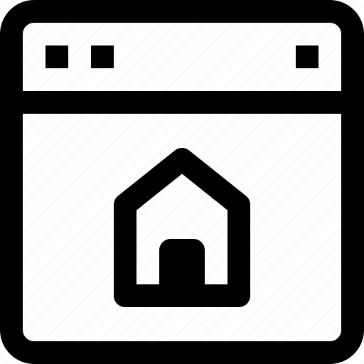 apartment, building, estate, home, online, property, real, real estate icon
