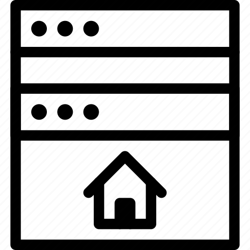 browser, ecommerce, estate, home, house, online, property, real, rent, website icon