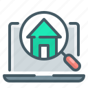 find, home, house, magnifier, magnifying, find home, find house