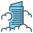 business, office, buildings, offices, estate, skyscraper icon