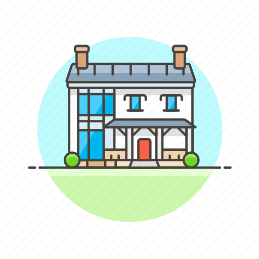 architecture, building, construction, estate, home, house, property, real icon