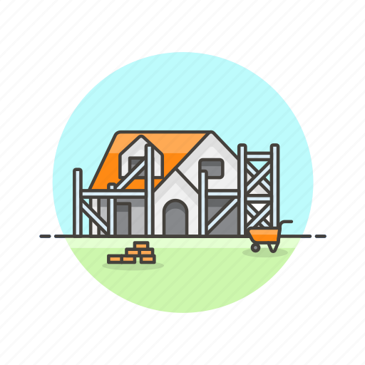 build, building, construction, estate, house, property, real, repair icon
