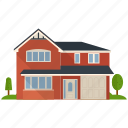 apartment, apartment building, house, real estate, villa icon