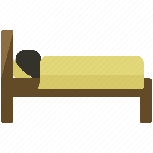 bed, bedroom, furniture icon