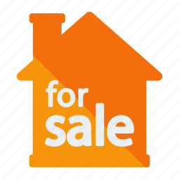 estate, for, real, sale icon