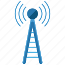 communication, tower icon