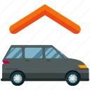 car, garage, transportation icon